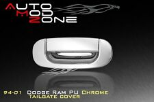 94-01 Dodge RAM Triple Chrome Tailgate Door Handle Cover Trim