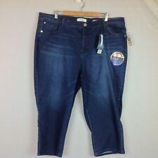 NWT Angels Signature Capri Jeans Womens 24W Tummy Tech