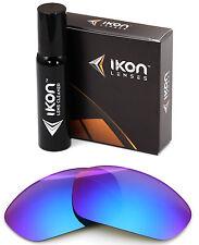 Polarized IKON Iridium Replacement Lenses For Oakley Juliet Purple Mirror