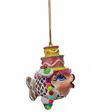 Katherine's Collection Kissing Fish  - Sweet Tooth CAKE Kissing Fish