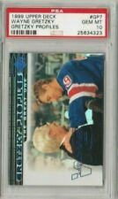 Wayne Gretzky & John Muckler 1999 Upper Deck UD Profiles PSA 10 Gem Mint *POP 6*