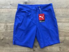 2019 Puma Pounce Bermuda Golf Shorts Dazzling Blue Dry Cell SZ S ( 577944 07 )
