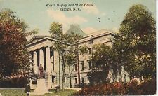 1912 The Worth Bagley and State House in Raleigh, NC North Carolina PC