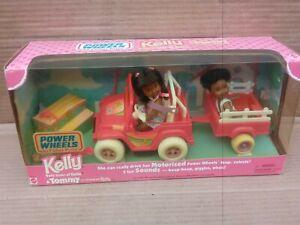 Kelly Baby Sister Barbie & Tommy Power Wheels African American