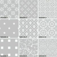 Privacy Frosted Window Film Decorative Etched Glass Self Adhesive Vinyl Opal
