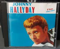 CD   Johnny Hallyday ‎– D'hier 1961/1971 Compilation 26 Titres 1991  Club Dial ‎