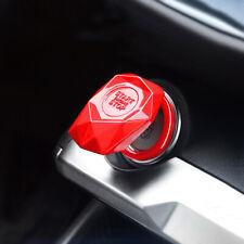 Útil universal coche motor de parada de comienzo del motor Botón Pulsador de cubierta de protección rojo