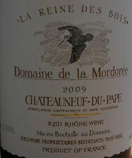 1bt Chateauneuf du Pape Domaine de la Mordoree Reine des Bois 2009
