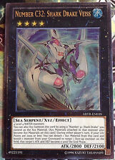 Number c32: Shark Drake VEISS ABYR-en039 ULTIMATE RARE YU-GI-OH! XYZ INGLESE NM