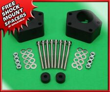 For 86 98 Toyota Ifs Pickup T100 4wd Front 2 Billet Level Lift Kit Black Spacer Fits Toyota Pickup