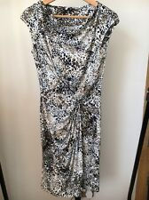 Summer Dress  Size 12 Stretch Polyester Animal Print Sleeveless TU  <T10561
