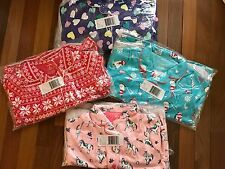 NWT Girls 5 CARTER'S Lot of 4 Winter Pajama Sets