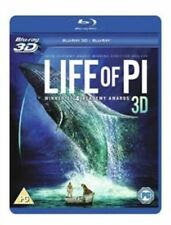 Life of Pi Blu-ray Region B 3d