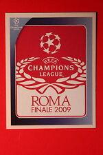 PANINI CHAMPIONS LEAGUE 2008/09 # 562 UEFA CL THE FINAL BLACK BACK MINT!