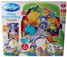 Brand New Playgro Linking Animal Friends Play Gym for Baby Infant Toddler