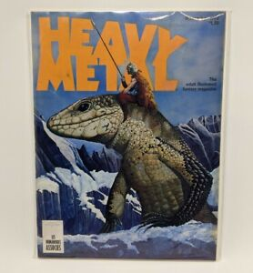 HEAVY METAL MAGAZINE #8 NOVEMBER 1977 (CORBEN, MOEBIUS, H ELLISON)
