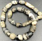 Dzi Old Beads Antique Spiritual Himalayan Tibetan India Nepalese Agate Jewelry