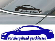 2 Volkswagen EOS Cabrio Aufkleber VW EOS003