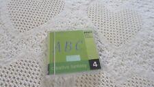 Pfaff Emb Machine Card Creative Fantasy #4 Alphabet, 7570,7560, 2140,2170 Nice