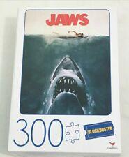 Jaws Original Movie Poster Blockbuster Puzzle 300 Pcs