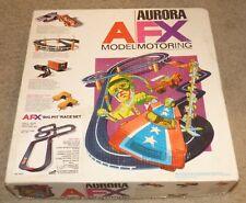 Vintage Aurora AFX Model Motoring Big Pit Race Track Set No. 2010 for Slot Cars