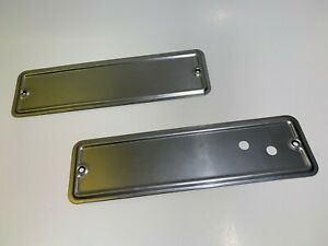1935 - 1936 Ford Pickup / Truck Windshield Hinge / Wiper Motor Access Covers