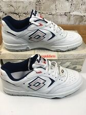 Vintage LOTTO Play Tennis Shoes Trainers Men's Uk 8.5 Eu 42.5 White Casuals