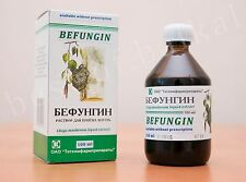 BEFUNGIN Chaga Mushroom Liquid Extract - Natural Defense For Health, Gastritis