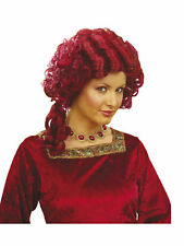 Perücke Barock Lady rot Karneval Fasching