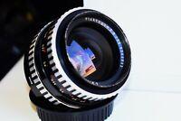 Rare Zebra Carl Zeiss Jena Flektogon 35mm f/2.8 Wide Angle SLR lens M42 EXC