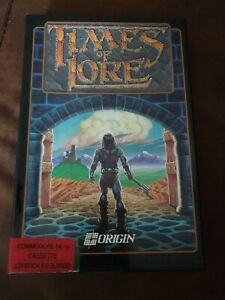 Times Of Lore - Commodore 64 / 128 - C64 - Boxed & Complete W/ Map