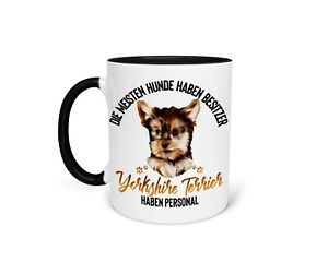 Kaffeetasse Tasse Becher Yorkshire Terrier Yorkie Hund Lustiger Spruch Geschenk