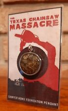 Texas Chainsaw Massacre Movie Prop Relic House Foundation Resin Pendant