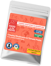 Food Supplies: Lightweight Dehydrated Meal - Creamy Mushroom & Tomato Pasta