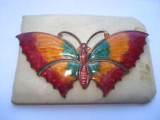 Enamel Vintage Costume Jewellery Butterflies/Insects
