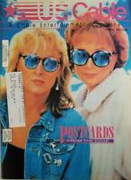 US Cable Entertainment Magazine Oct 1991 Postcards Shirley MacLaine Meryl Streep
