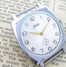 ZIM 2602 POBEDA PEARL HATCH Vintage Soviet Russian Mechanical Mens Wrist Watch