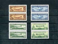 United States Replica Zeppelin nice quart block Cinderella