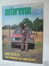 AUTOREVUE 1973-09A,AUDI 80 LS,PEUGEOT 104,TULPENRALLYE,KARTING,CROSS VALKENSWAAR