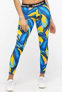ADIDAS ORIGINAL womens ladies leggings fashion tight  6  8 10 12 14 gym SLIM FIT