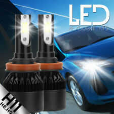Car LED H8 H9 H11 Headlight Kit COB 388W 38800LM White High Power 6K All IN ONE