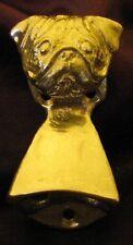 PUG Wall Mounted Bottle Opener in Bronze