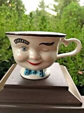 "Bailey's Irish Cream Winking ""YUM"" Boy w/Blue Bow Tie Mug w/Handle"