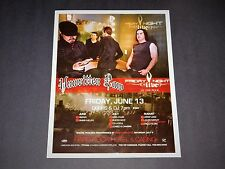 "Unwritten Law Concert 2015 Hard Rock Vegas Matted Music Event Poster 15"" x 12"""