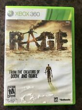 Rage (Microsoft Xbox 360, 2011) Complete. Tested.
