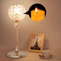 Crystal Votive Candle Holder Candlestick Party Wedding Centerpieces Candelabra