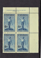 1947 Canada (BNA) 80th Anniv Canada Imprint Block of 6 Sc#275 M/NH/OG Pristine!*