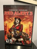 Command and Conquer: Red Alert 3 DVD-ROM for Windows PC with Poster