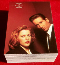 X-FILES - SEASON THREE - COMPLETE BASE SET of 72 cards - Topps - 1996