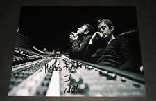 """CHASE AND STATUS PP SIGNED 10""""X8"""" REPRO PHOTO & DUBSTEP DRUM N BASS"""